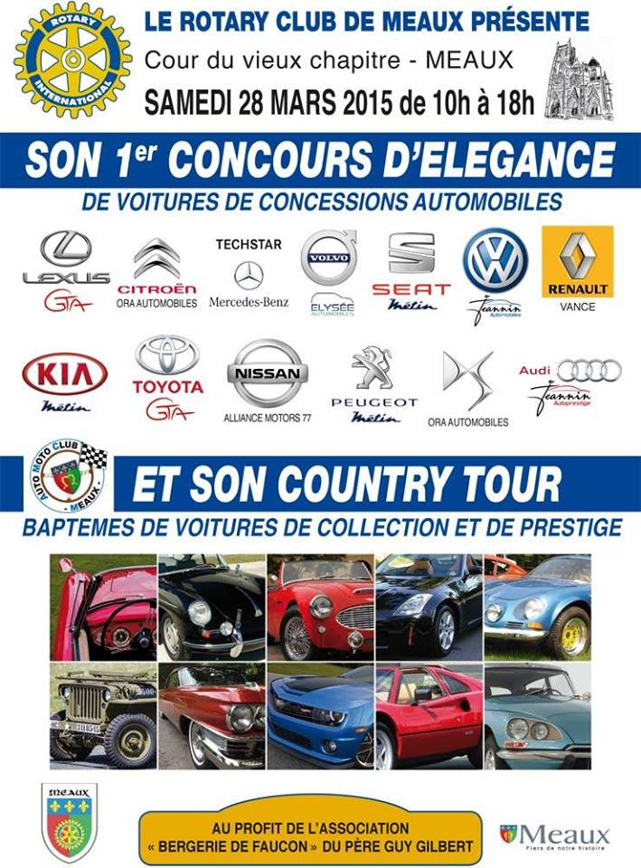 Concours elegance 2015 rotary meaux